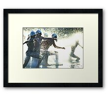 """The most important thing in life is not the triumph but the struggle"" Framed Print"