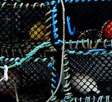 Lobster Creels by Kenart