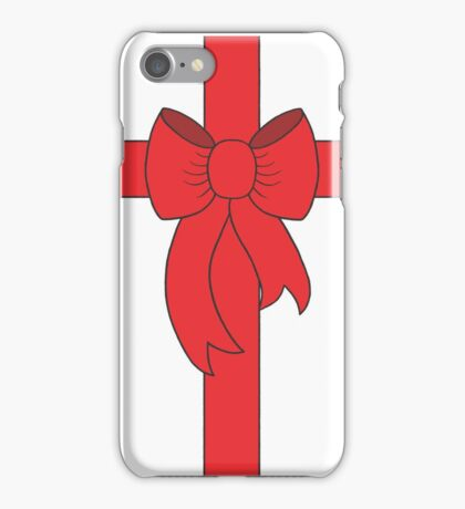 Red Ribbon iPhone Case/Skin