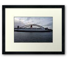 QE Bridge Framed Print