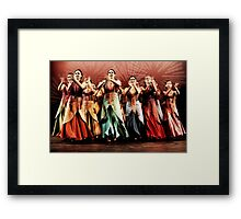 Spanish Dancers Framed Print