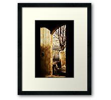 The Kirk Door Framed Print