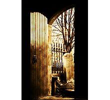The Kirk Door Photographic Print