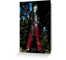 Zombie 24 Greeting Card