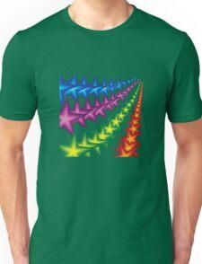 vivid star stripes Unisex T-Shirt