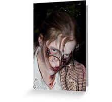 Zombie 21 Greeting Card