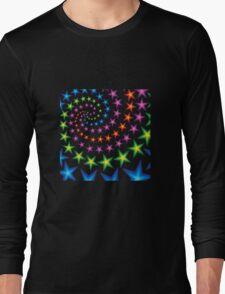 vivid star spirals Long Sleeve T-Shirt