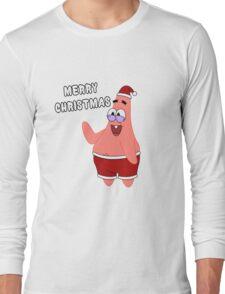 Merry Christmas   Patrick Star Long Sleeve T-Shirt