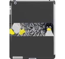 Penguin Linux Tux art graphic iPad Case/Skin