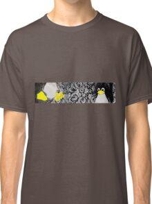 Penguin Linux Tux art graphic Classic T-Shirt