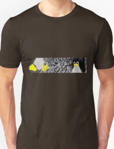 Penguin Linux Tux art graphic Unisex T-Shirt