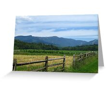 Fencing in Beauty Greeting Card