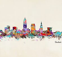 Cleveland Ohio skyline by bri-b