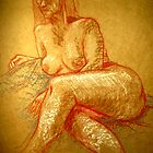 portrait of a nude by dimarie