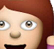 Fabulous Hair Toss Emoji Sticker