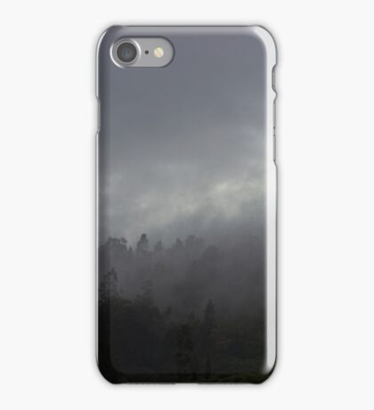 Morning Fog On The Andes iPhone Case/Skin