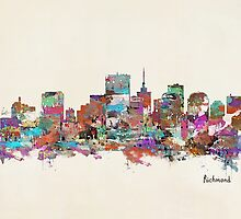 Richmond Virginia skyline by bri-b