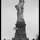 Miss Liberty's Backside by J.C  Photography