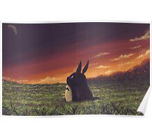 My beautiful Totoro ! Poster