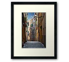 French Solitude Framed Print