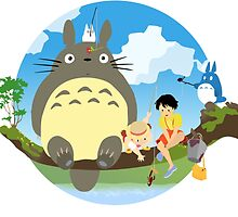 My beautiful Totoro ! [UltraHD] by Alexandre Gautier