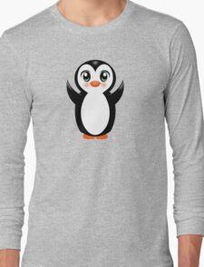 Cute Baby Penguin Long Sleeve T-Shirt