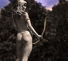 Diana, Goddess Of The Hunt III by Al Bourassa