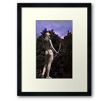 Diana, Goddess Of The Hunt III Framed Print