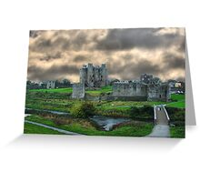 Trim Castle Greeting Card