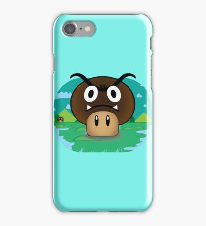 Mario - Mushgoomba iPhone Case/Skin