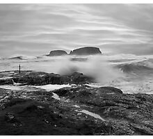 Rough Seas Photographic Print