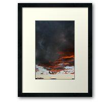 Tucson Sky Framed Print