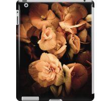 Peach Begonia Flowers - Flora Photography iPad Case/Skin