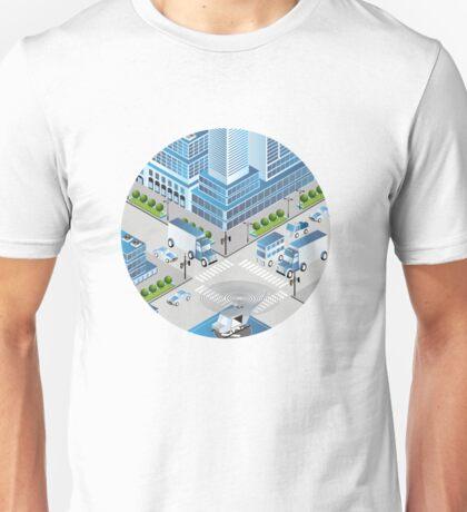 Urban crossroads Unisex T-Shirt
