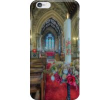 Christmas Candle iPhone Case/Skin