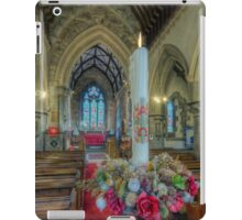 Christmas Candle iPad Case/Skin