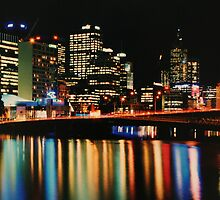 Kings Bridge, Melbourne by mgeritz