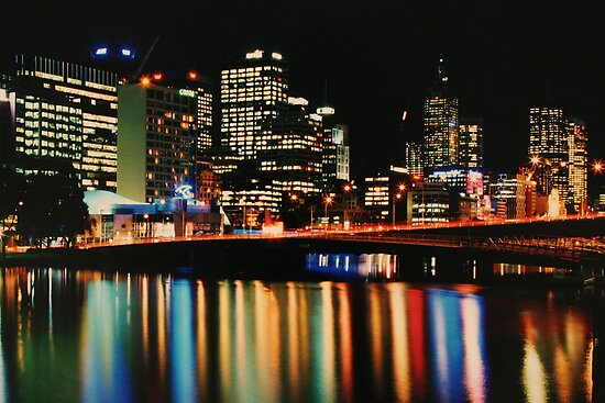 Kings Bridge, Melbourne by mgeritz
