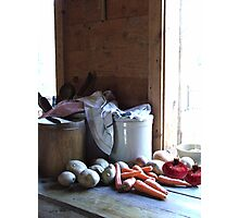 Vegetables For Soup Photographic Print