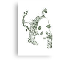Sketch of Nature Canvas Print