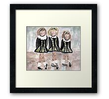 Three Irish Lasses Framed Print