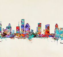 Houston Texas skyline by bri-b