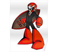 Protoman in a black tux  Poster