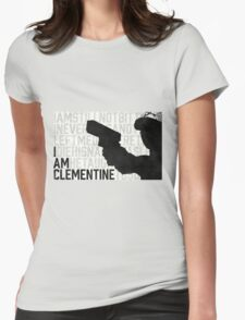 TWDG I Am Clementine Womens Fitted T-Shirt