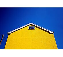 The Yellow House Photographic Print