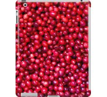 Cranberry Harvest - Fall Autumn Season - Plentiful Red Berries iPad Case/Skin