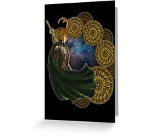 LOKI - Bifrost Greeting Card