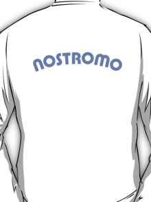 Nostromo back lettering from Alien (clean version) T-Shirt