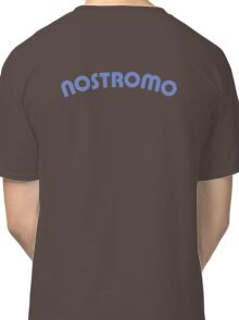Nostromo back lettering from Alien (clean version) Classic T-Shirt