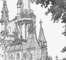 Sleeping Beauty Castle Sticker